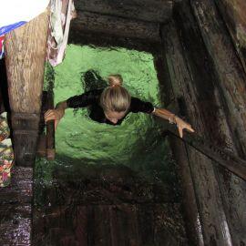 Источник Серафима Саровского - один из наиболее почитаемых паломниками, расположен на реке Сатис Паломническая поездка в Санаксары и Дивеево 28.06.18 - 01.07.18
