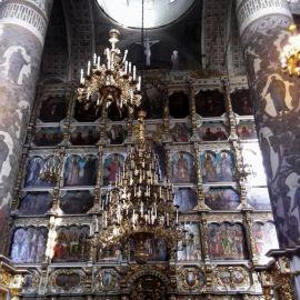 Иконостас Донского монастыря Паломническая поездка к мощам святителя Спиридона и блаженной Матроны