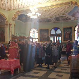 Традиционный молебен перед поездкой Паломническая поездка к мощам святителя Спиридона и блаженной Матроны