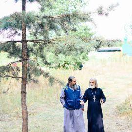 Отец Виктор и отец Геннадий Выезд на природу, 4.09.2021 г.
