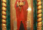 Икона Божьей Матери (Пасха, 15 апреля 2012 г., храм Рождества Иоанна Крестителя, г. Харьков)