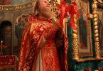 Христос воскресе! Воистину воскресе! (Протоиерей Виктор Гузенко, Пасха, 15 апреля 2012 г., храм Рождества Иоанна Крестителя, г. Харьков)